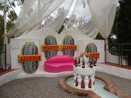 Casa Dali Pirelli lounge