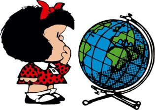Mafalda geografía