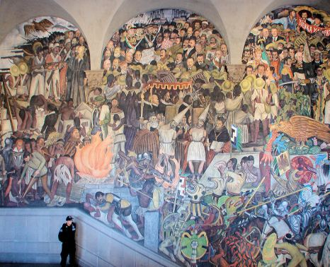 Mural_Depicting_Mexico_History_Diego_Rivera3